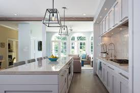 industrial island lighting kitchen transitional with large kitchen