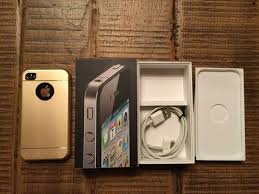 Apple Iphone 4 Black 8 GB model A1332 boxed incl charger Catawiki