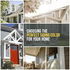 Choosing The Perfect Siding Color Siding Color Tips Erdmann
