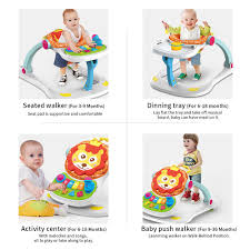 Baby 4 In 1 Activity Play Center Walker Seated Push Learning Walker Feeding  High Chair Music Toys With A Wide Extra-stable Base Correll Round High Pssure Laminate Daycare Activity Table With 19 29 Adjustable Height Legs Usa Made Safety Baby Infant Toddler Chair Tray Folding Feeding Seat Skip Hop Tuo Convertible High Chair Charcoal Highchair 1st Birthday Elmo Decorating Kit 2pc Cocoon Pad Blue Highchairs Nursery Direct The Best High Chair Chicago Tribune Harmony Eat And Play Chairactivity Center Greenwhite Mamas Papas Bud Booster Seat In Sydenham Belfast Gumtree Triplet Activity Table