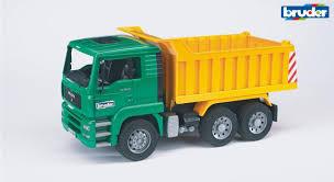 BRUDER Sunkvežimis žalias Su Geltona Priekaba, 02765 | Varle.lt