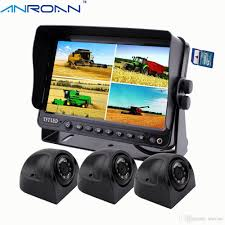 100 Truck Camera System Anroan Car Side Backup 7 Monitor DVR Heavy