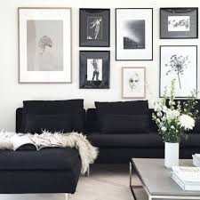 Black Leather Couch Living Room Ideas by Best 25 Black Sofa Decor Ideas On Pinterest Black Sofa Living