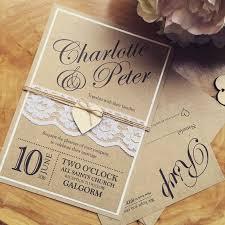 Handmade Rustic Wedding Invitation Ideas Weddings Vintage Invitations