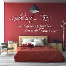 details zu wandtattoo schlafzimmer liebe ist beim aufwachen wandaufkleber spruch
