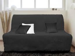 housse de canapé bz pas cher housse pour canapé bz adaptable couleur noir pas cher
