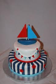 CakeDreamz Cakes Nautical Baby Shower Cake