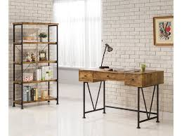 Coaster Contemporary Computer Desk by Coaster Barritt Industrial Style Writing Desk With 3 Drawers Del