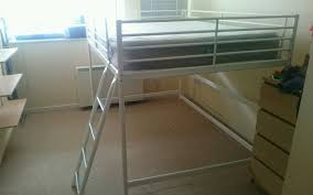 Ikea Tromso Loft Bed by Home Design Ikea Svarta Loft Bed Frame With Desk 7500 Picclick