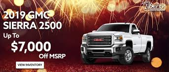 Liberty Buick GMC Dealership -Year-End Sales Start Now On GMC Sierra ...