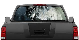 Wolf 4 Wolves Rear Window Graphic Decal Perforated, Rear Window ... Waving American Flag Truck Back Window Decal Indianola Tint Deer Hunting Rear Decals Best Photos Waterallianceorg Amazoncom Vuscapes American Patriotic 2 Product Darth Vader Movie Star Wars Sticker Pick Dodge Ram D Plate Speedy Signs Vehicle One Way Vision Attn Ownstickers In The Rear Window Or Not Mtbrcom Lipsense Car Custom Stickers For Pickup Trucks Prairie Gold Perforated Auto Catherine M Johnson Homes Modification