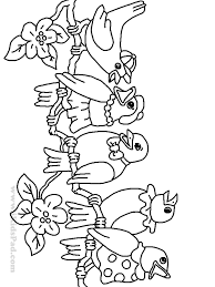 Free Printable Cartoon Picture Coloring Book For Kids