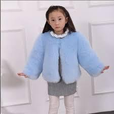 Clobee 2017 Kids Girls Luxury Winter Warm Faux Fur Coats Baby Girl Fox Outwear Pink Jacket Babies Clothes F1 In Jackets From