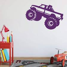 100 Monster Truck Wall Decals Amazoncom Decal Personalized Vinyl Decor For