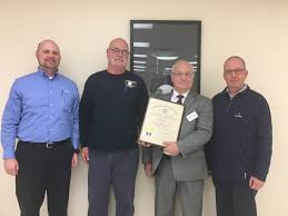 Kentucky Labor Cabinet Secretary by Labor Cabinet Presents Governor U0027s Safety Health Award To Domtar