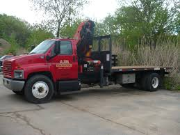 AJM Contractors, Inc. - A Picture Of Our Boom Truck. Image | ProView