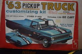 Looking Back At AMT's 1963 Chevrolet PU - Truck Kit News & Reviews ...