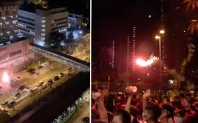 100 An Shui Wan 6 Protesters Injured In Firework Driveby Outside Tin