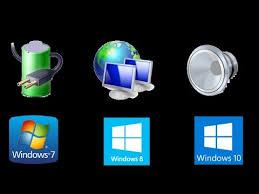 icone bureau disparu comment faire réapparaître l icone du de la batterie ou du