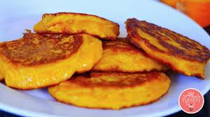 Easy Vegan Pumpkin Pancake Recipe by How To Make Pumpkin Pancakes Oladushki оладьи из тыквы Youtube