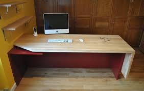 bibliothèque avec bureau intégré création bibliothèque avec bureau intégré morbihan xylonéo