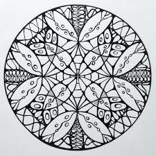 Sacred Geometry Coloring Book Pdf Colouring Mandala Design Color Inspired Curious Shapes