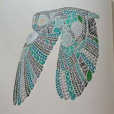 Flying Owl From Millie Marottas Animal Kingdom Colouring Book