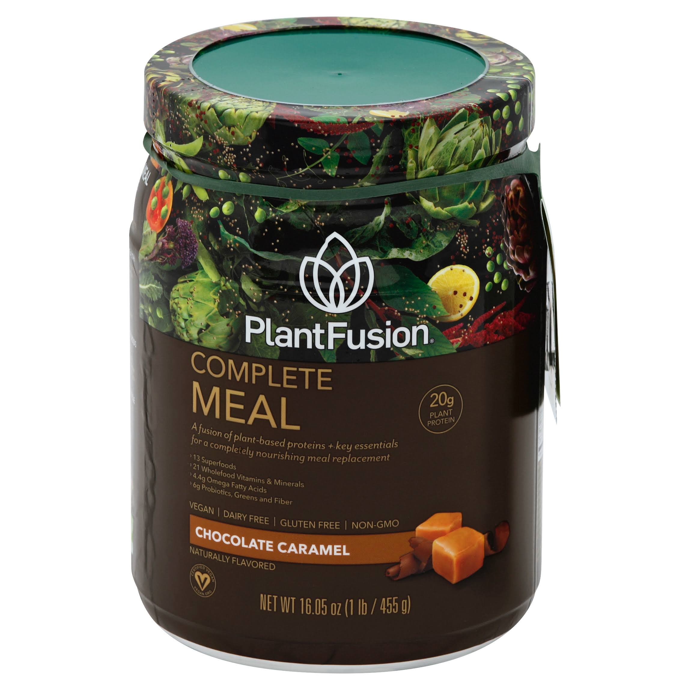 Plant Fusion Phood Supplement - Chocolate Caramel, 450g