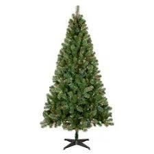 6ft Prelit Artificial Christmas Tree Alberta Spruce Multicolored Lights
