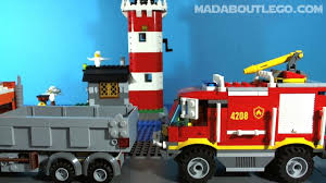 100 Lego Fire Truck Video LEGO City S YouTube