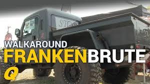 100 Jeep Wrangler Truck Conversion Kit Frankenbrute Custom Walkaround