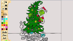 The Grinch Xmas Tree by Coloring A