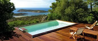 piscine semi enterrée conseils prix installation législation