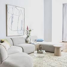 brutalismus wanddekoration weiß 120x160cm
