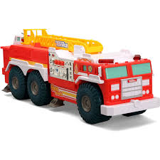 100 First Fire Truck Tonka My Mighty Wheels Rescue Engine Walmartcom