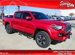 New 2018 Toyota Ta a TRD Sport V6 Dallas TX