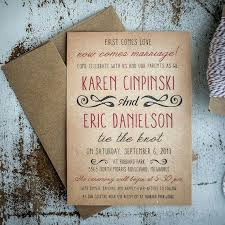 Beautiful Country Wedding Invitation Wording For Rustic