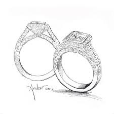 Full Size of Wedding Rings how To Draw A Diamond Ring Step By Step How