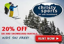 Christy Sports Ski And Snowboard by Christy Sports Ski Rental Discounts Colorado Ski Shops And