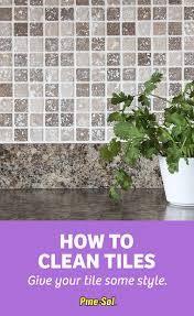 how to clean tile pine sol