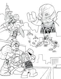 Civil War Coloring Book Together With Extraordinary Avengers Pages For Free