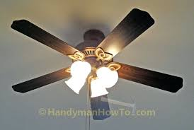 ceiling fan hton bay remote manual light bulb removal