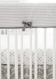 gray crib bedding arrow crib bedding crib rail guard