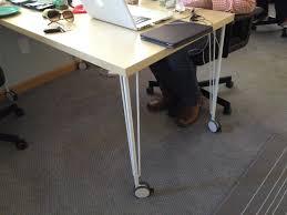 DIY Coworking Furniture IKEA Craigslist Garage Sales