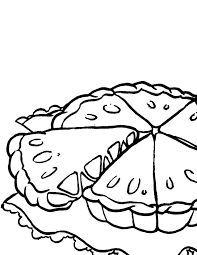 Apple Pie Coloring Page Handipoints