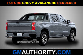 100 Avalanche Trucks New Renderings Imagine A New Chevy GM Authority