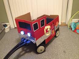 Fire Truck Halloween Costume Homemade | Cartoonview.co