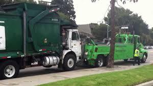 Front Loader Garbage Truck