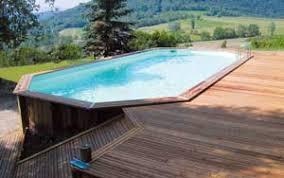 piscine bois semi enterrée conseil astuces montage installation