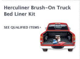 Herculiner Bed Liner Kit by Cash Rebate